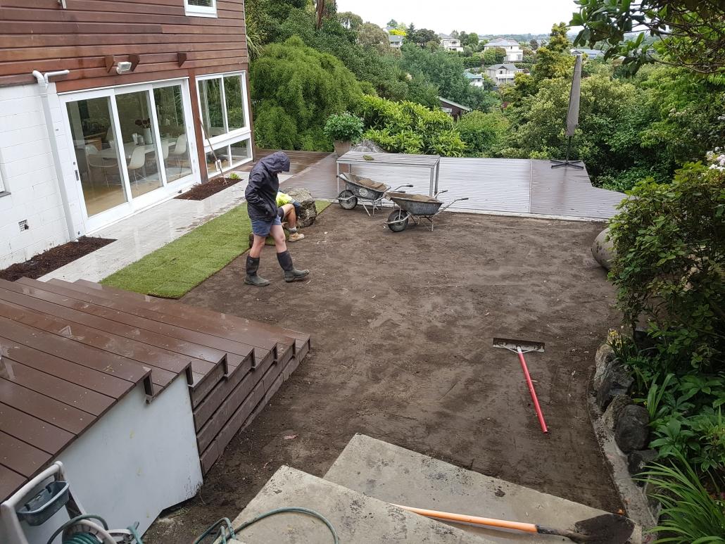 Landscaping Kinstruction